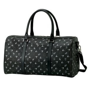 Wavy Lines Camouflage Barrel//Duffel Bag One Size 20 Liters